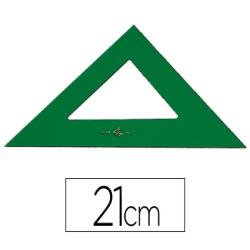 Escuadra faber 21 cm plastico verde 2880-566/21