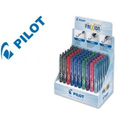 Boligrafo pilot frixion punta de aguja -expositor colores