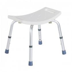 Chaise de douche | Aluminium | Réglable en hauteur | Conseils