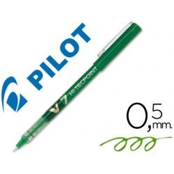 Rotulador pilot punta aguja v-7 verde 0.7 mm 18429-V-7 V