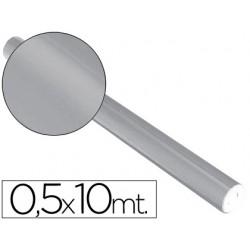 Papel metalizado plata rollo continuo de 0,5 x 10 mt 5660-77304