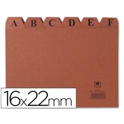 Indice fichero carton -nº 5 -tamaño 16x22 3817-IC05