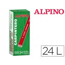 Lapices alpino carpintero caja de 24 unidades 62941-LE000013