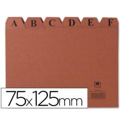 Indice fichero carton -nº 2 -tamaño 75x125 3818-IC02