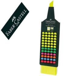Rotulador faber fluorescente 48 -expositor 60 unidades colores
