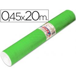 Rollo adhesivo aironfix unicolor verde medio 67005 -rollo de 20