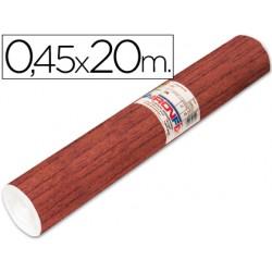 Rollo adhesivo aironfix madera oscuro 67183 -rollo de 20 mt