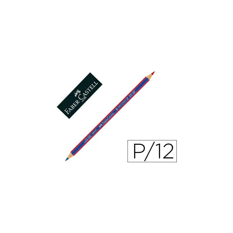 Lapices bicolor faber unidad 73077-2160RB / 116000