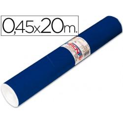 Rollo adhesivo aironfix unicolor azul mate oscuro 67150 -rollo