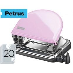 Taladrador petrus 52 rosa strawberry cream capacidad 20 hojas