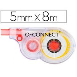 Corrector q-connect cinta blanco 5 mm x 8 mt 21776-KF01593
