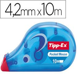 Corrector tipp-ex cinta -pocket mouse 4,2 mm x 10 m. 18636-5328