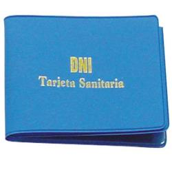 Funda portacarnet seguridad social y dni opaca 16873-FT