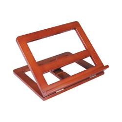 Atril sujetalibros madera -color cognac 23917-D-321