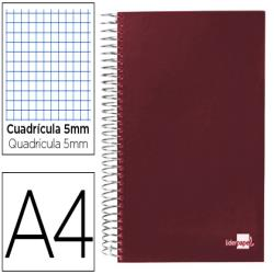 Cuaderno espiral liderpapel a4 micro papercoat tapa forrad140h