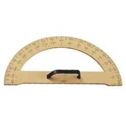 Semicirculo para encerado faibo de plastico imitacion madera 34