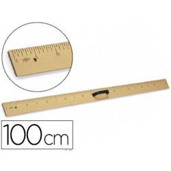 Regla para encerado faibo de plastico imitacion madera 1mt