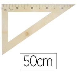 Cartabon para encerado faibo de plastico imitacion madera 50 cm