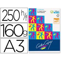 Papel fotocopiadora color copy din a3 160 gramos paquete de 250