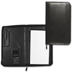 Carpeta portafolios 80-848 negra 260x355 mm cremallera sin