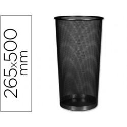 Paraguero metalico q-connect kf00829 rejilla negro -265