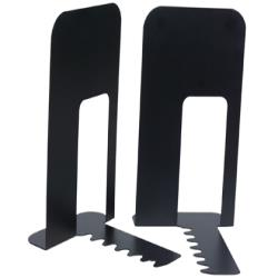 Apoyalibros metalico q-connect kf00837 negro -juego