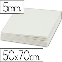 Carton pluma liderpapel doble cara 50x70 cm espesor 5 mm