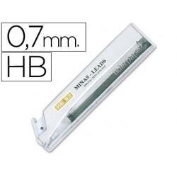 Minas liderpapel grafito 0.7 mm hb tubo de 12 minas 35822-MG02