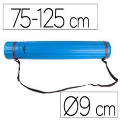 Portaplanos plastico liderpapel diametro 9 cm extensible hasta