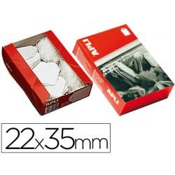 Etiquetas colgantes 390 22 x 35 mm -caja de 500 3168-390