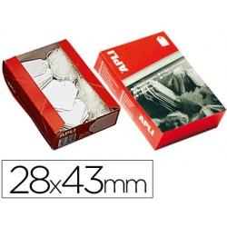 Etiquetas colgantes 391 28 x 43 mm -caja de 500 3169-391