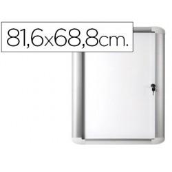 Vitrina de anuncio bi-office magnetica 816x688 mm para exterior