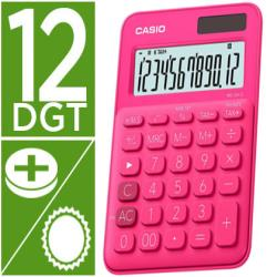 Calculadora casio ms-20uc-rd sobremesa 12 digitos tax +/- color