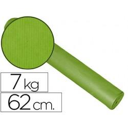Papel fantasia kraft liso kfc bobina 62 cm -7 kg -color