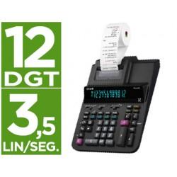 Calculadora casio impresora pantalla digitron papel 58 mm