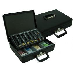 "Caja caudales q-connect 14,5"" 370x290x110 mm con portamonedas y"