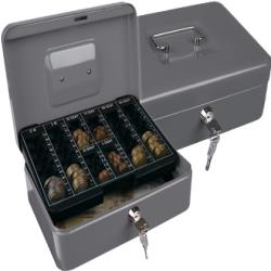 "Caja caudales q-connect 10"" 250x180x90 mm plata con"