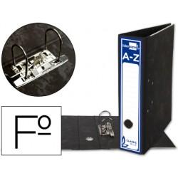 Archivador de palanca liderpapel folio classic blue carton