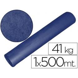 Papel kraft azul 1,00 mt x 500 mts especial para embalaje