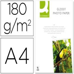 Papel q-connect foto glossy din a4 alta calidad digital photo