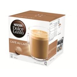 Cafe dolce gusto cafe con leche monodosis caja de 16 unidades