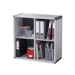 Mueble estanteria 4 casillas fast-paperflow 790x778x330 mm