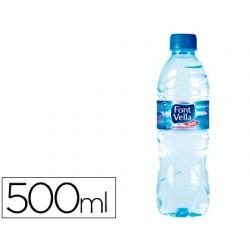 Agua mineral natural font vella sant hilari 500ml 59190-FV0.5