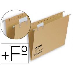 Carpeta colgante hamelin folio prolongado visor superior kraft