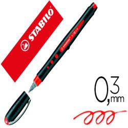 Rotulador stabilo roller ball bl@ck 0,3 mm rojo 150761-1016/40