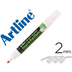Rotulador artline pizarra epd-4 color blanco opaque ink board