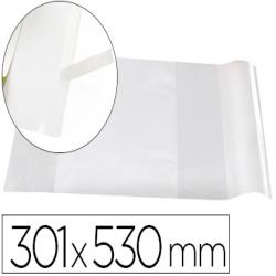Forralibro liderpapel nº30 con solapa ajustable adhesivo 301 x