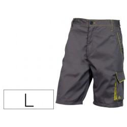 Pantalon de trabajo deltaplus bermuda cintura ajustable 5
