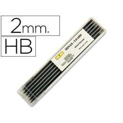 Minas liderpapel grafito de 2mm -estuche de 12 minas 49172-MG03