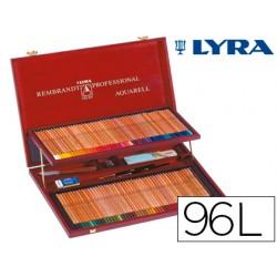 Lapices de colores lyra rembrandt acuarelable 96 colores